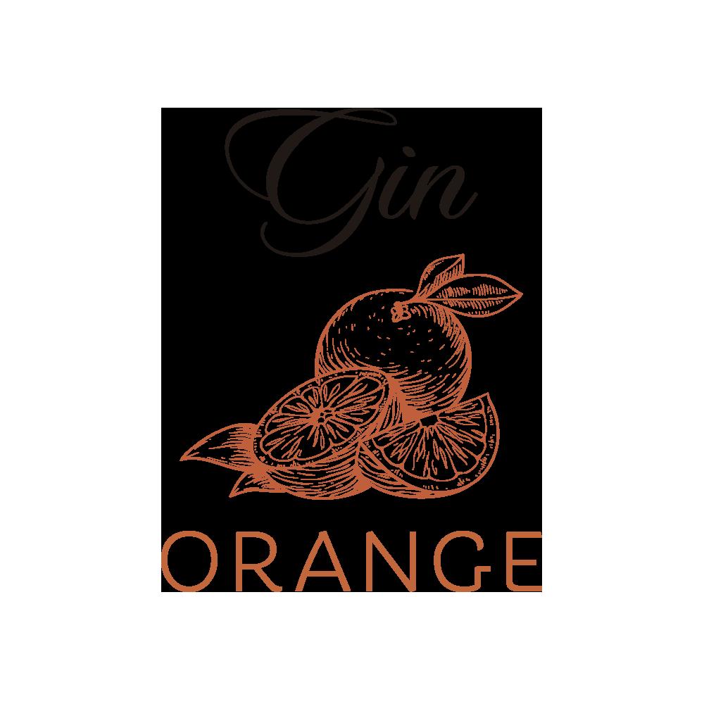Gráficos Ginebra Premium STRIDE® Naranja - Gin STRIDE ® Premium Orange
