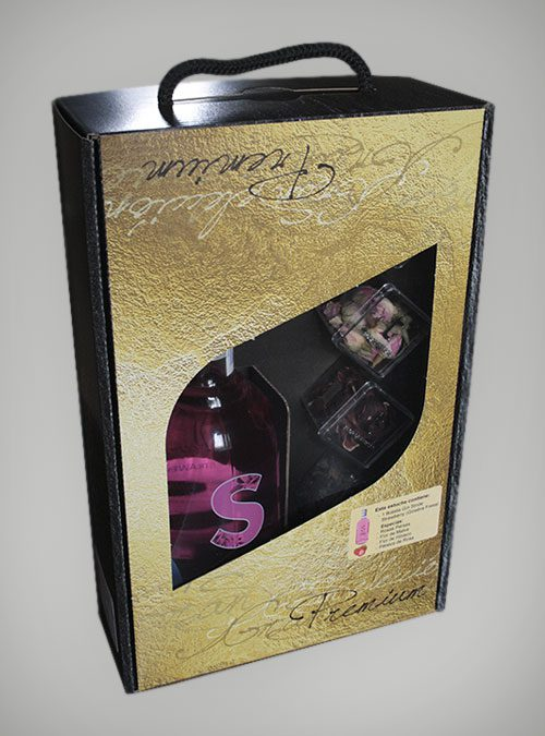 Estuche especial Ginebra STRIDE® Premium Fresa (Strawberry).
