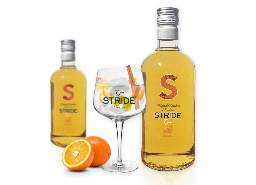 Gin Stride Premium Orange.
