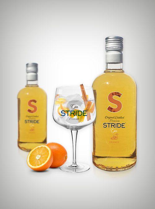 Ginebra STRIDE® Premium Naranja (Orange).
