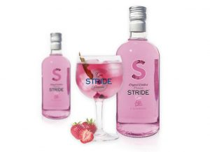Ginebra STRIDE® Premium Fresa (Strawberry).