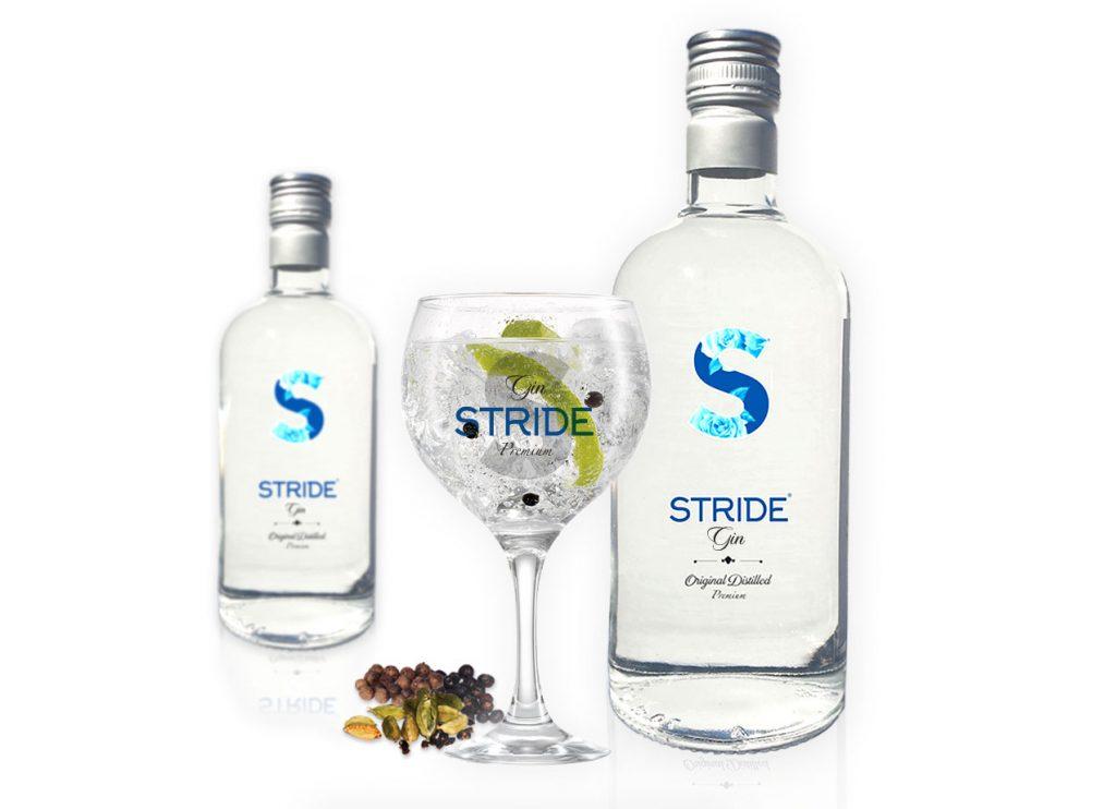 Gin Stride Premium Botanic.